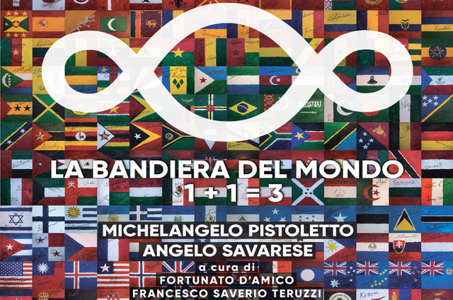 BANDIERA_DEL MONDO_Pistoletto